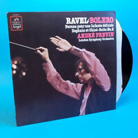 RAVEL BOLERO ANDRE PREVIN LONDON SYMPHONY Vinyl LP Album Angel 1980 SZ 537670 NM