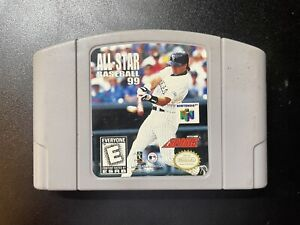 All-Star Baseball 99 (N64) TESTED/GAME ONLY