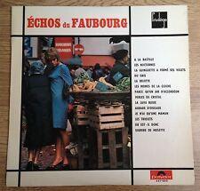 LP Accordéon Échos du faubourg Toni Jacques Renée Gardet Mon pote1965 comme NEUF