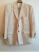 44R Bert Pulitzer Men's Sport Coat Feather-Lite Linen Blend Tan Color