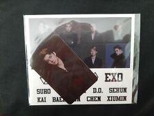 EXO Sehun Official Lightstick Photocard & Stickers