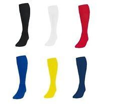 New Plain Football Socks Soccer Hockey Rugby Sports Sock PE Mens Womens Kids