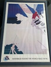 Franco Costa Withbread Round The World Race '89-'90 Poster