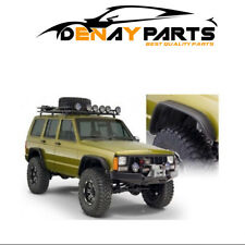 For 84-01 Jeep Cherokee Flat Style Fender Flares Front And Rear Pair Bushwacker