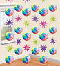 6 x Glitter Disco Ball Hanging Strings 70s 80s Disco Party Birthday Decorations