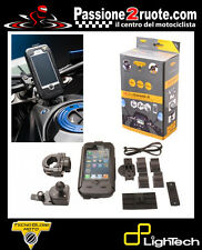support tecno globe iphone 5 motorcycle scooter bike waterproof touch gps