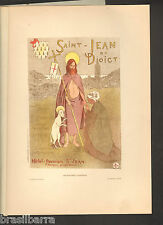 LITHOGRAPHIE  ANCIENNE DE MOREAU-NELATON