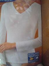 camiseta interior talla M G EG Blanca princesa 4798 NUEVA shirt underwear