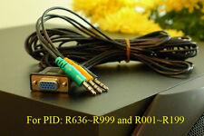 Logitech Z-5500 Z5500 Control Pod Bypass Cable 10ft