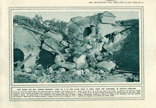 1915 Przemysl Fort No 6 Destroyed Reoccupied By German Forces
