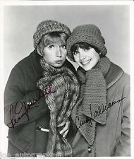 Laverne & Shirley SIGNED cast photo Cindy Williams Penny Marshall JSA COA