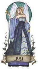 "Angel Virtues - Joy sticker magic fantasy fairy - one of 5 ""Virtues"" designs"