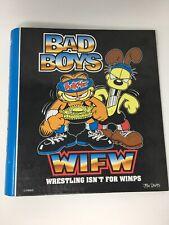 Vintage Garfield Odie Wrestling Binder Mead BTS Back to School 1999