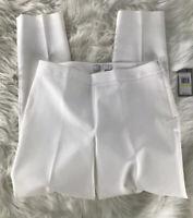 Chaus Women's White Dress Pants Size 4 NWT