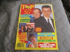"RARE! REVUE ""TOP 50 N°49 - 1987"" Les Communards, Caroline LOEB, Samantha FOX"