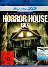 Horror House 3D & 2D Blu-Ray Disc - 3 Horror Movies - Uncut - Haunting in Salem