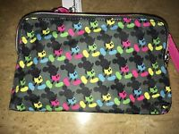 Disney Mickey Mouse Bright Rainbow Crossbody Clutch Authentic