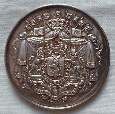 Médaille ARGENT BELGIQUE SOCIÉTÉ ROYALE HORTICULTURE AGRICULTURE TOURNAI HART