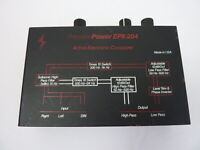 Old School Precision Power EPX-204 Electronic Crossover PPI Display