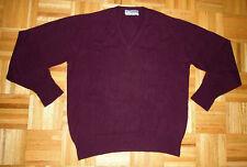 Sweater Vintage Kintyre Cashmere Pullover V Neck Scotland Made Fits MED / Large