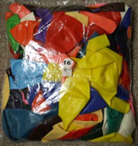Luftballons, Latex Occidental 16 Zoll = 40cm Durchm. gem Farben Matt u. Kristall
