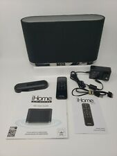 iHome Iw1 Airplay Wireless Stereo Speaker System With Remote. Free Shipping