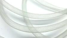 6 Feet of Mesh Nylon Silver Tube, Cord, Fits up to 6mm bead