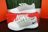 Nike Lunar Empress 2 Women's Golf Shoes White/Grey 819041-100 Multi Sizes