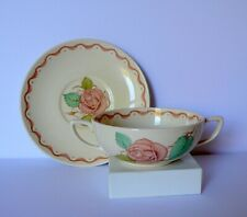 Susie Cooper Pink PATRICIA ROSE Cream Soup Bowl Underplate # 1
