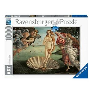 Puzzle Ravensburger Nascita di venere 1000pz, 70x50 cm, 12+