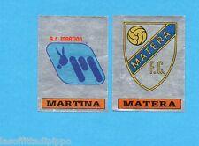 PANINI CALCIATORI 1985/86 -FIGURINA n.609- MARTINA+MATERA -SCUDETTO-Rec