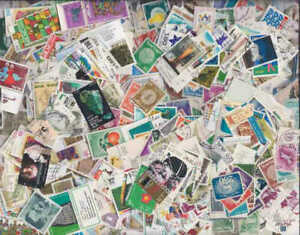 Israel Stamp Collection - 1,000 Different Stamps
