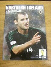 14/11/2012 Northern Ireland v Azerbaijan [At Windsor Park] . Thanks for viewing