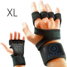 Cross Training Gloves with Wrist Support for WODs, Gym Workout, Weightlifting XL
