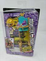 """Monster High Monster Family of Cleo De Nile Sandy De Nile 2.5"""" Doll New in Box"""