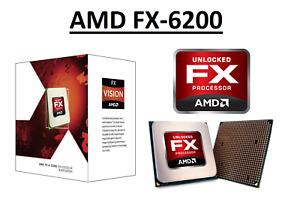 AMD FX-6200 Hexa Core Processor 3.8 - 4.1 GHz, 6MB Cache, Socket AM3+, 125W CPU