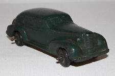 1937 Oldsmobile Sedan, Auburn Rubber, Dark Green, Black Wheels, Original #4