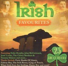 IRISH FAVOURITES -VARIOUS 25 TRACK CD NEW