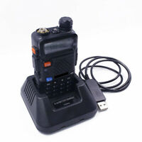 UV5R USB Battery Charger for Baofeng UV-5R Portable Two Way Radio Walkie Talkie