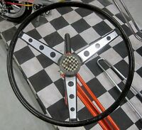 Stickers - Brushed Aluminum Huffy The Wheel DECAL for Banana Muscle Bike Bicycle