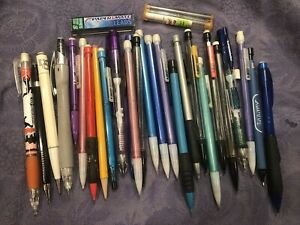 VINTAGE  Asst Mechanical Lead Pencil Lot 25 pencils 1990's
