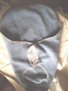 Baby Schlafsack für Autositz bis 9 KG,hellblau,kuschelig