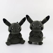 Japan Fragment X Black Pikachu Plush Doll Toy Unique Gift for Pokemon Fans SALE