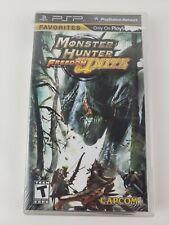 Monster Hunter Freedom Unite (Sony PSP, 2009) Brand New Factory Sealed !