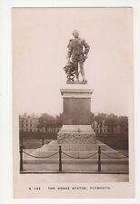 Devon, The Drake Statue Plymouth, Kingsway RP Postcard, B076