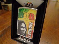 BOB MARLEY ZIPPO LIGHTER MINT IN BOX