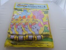 Vintage Wuzzles Disney Party Accessory Pack for 4 - 1985