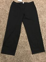 J. Jill Womens Size 18 Black Stretch Pants NWT A33