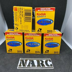 5x Kodak Advantix Ultra APS 200 expired film