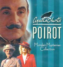 Agatha Christie Poirot: Murder Mysteries Collection, new 4-disc DVD, Suchet, PBS
